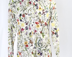 2 floral old season gucci shirt
