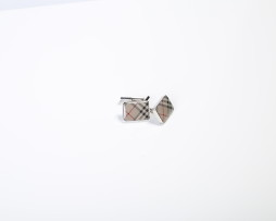 burberry side cufflinks